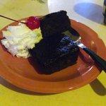 brownie de restaurante