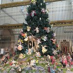 Christmas tree at the NY Met