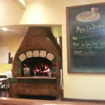 One of the wood fired ovens.