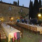 Welcoming Dinner In AIA Garden