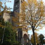 Potsdam, Alemania, Iglesia de San Pedro y San Pablo. Vista exterior.