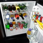 Mini-bar contents