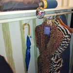 Robes, umbrella, iron & yoga mat!