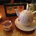 Tea with Panna Cotta