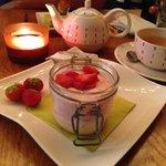 Strawberry Cheesecake (gluten free)
