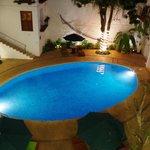 La piscine vue de notre chambre