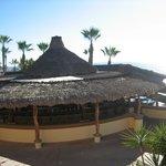 bar shack near pool