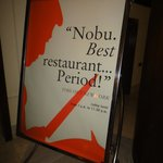 Nobu Restauraunt in the Lobby