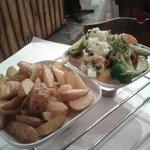 Блюдо - раклетт