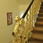 Красивая кованная лестница