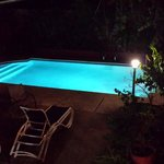 Evening view of the pool.