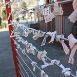Locals tie their prayers here