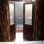 С видом на балкон