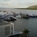 View of the Marina from the hotel