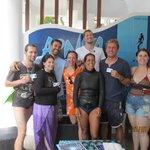 We finished Freediver Course