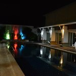 Swimming pool @ night