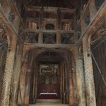 Inside the Stave Church