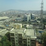 Mumbia (Bombay) city view and mountains
