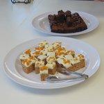 Two cake Dessert