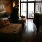 Nuestra habitación al estilo fenghuang por solo 120yuan al día!