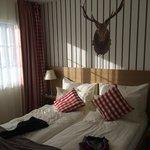 Schlafzimmer Klein aber Fein mit TV, Telefon, Wlan