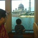 Imran enjoying the view
