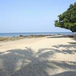 Beach am Morgen