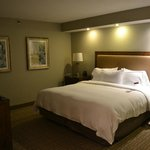 The bedroom was excellent, and the bed itself was amazingly comfortable