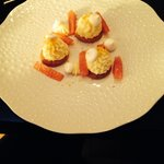 Tartelettes citron et pamplemousse mariné
