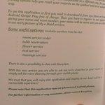 App para contactar en todo momento con el hotel