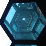 Harpa - looking up
