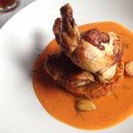 the garlic chicken, uber delicious!