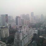 21階からのバンコク市内の眺め