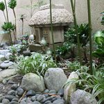 closer look at the small Japanese Garden