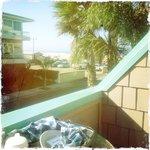 Balcony and breakfast...