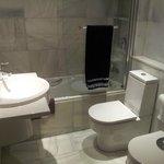 Baño de la habitación (suite)
