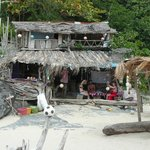 funky beach bar