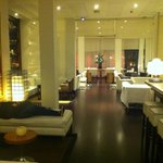 hotel bar area