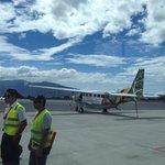 Nature air flight to Drake bay