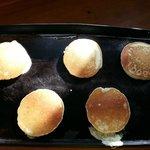 Amerikaanse pannenkoeken als ontbijt