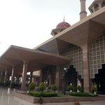 Mosque main entrance
