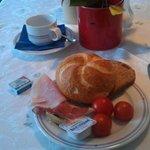 Tiroler Speck und Schinken zum Frühstück
