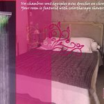 room oriande with colortherapy shower