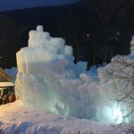 Ice Castle at Loon Mt.