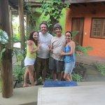 com Ricardo e Flávia