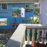 """Maggies Guest House """"Deluxe"""" Rooms veiw from the balcony"""