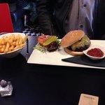 Stirling Moss: Burger, Stilton and caramelised onion