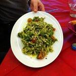 Pasta alla crema di broccoli