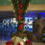 Xmas decorations in the hotel