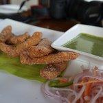 Karnataka deep fried fish .. so good!